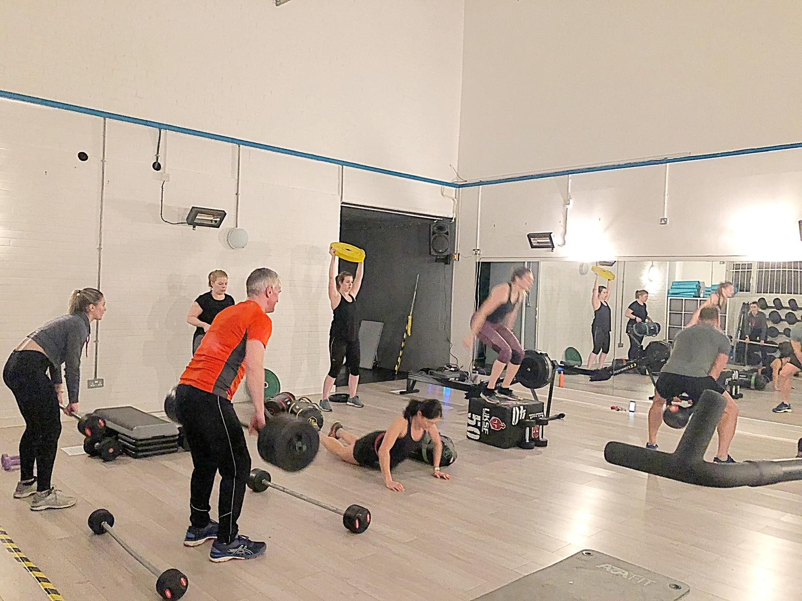 Bootcamp Class Olney The Fitness Hub