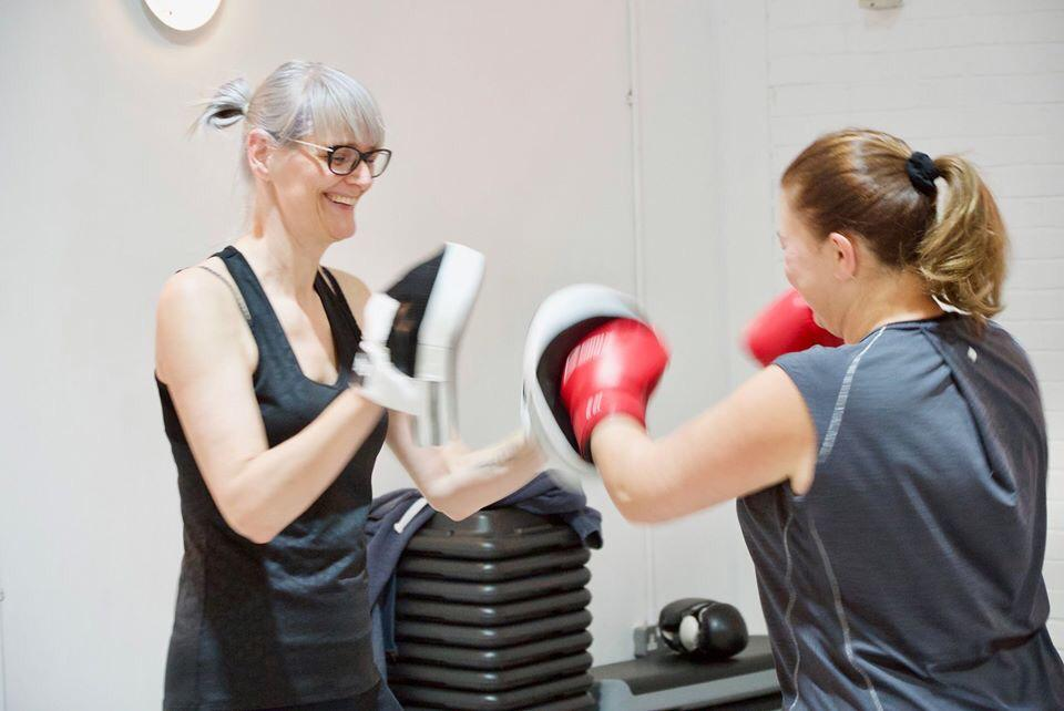 Boxing Fitness Class Olney Fitness Hub